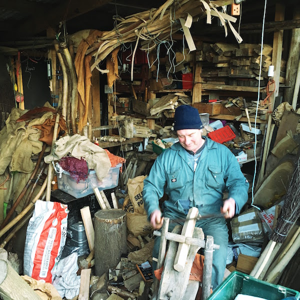 Building spaceships eventually broke him. Now he's a British Champion scythe handler, and a bodger--making brooms and chair legs in his shed. Still searching for an even simpler life.