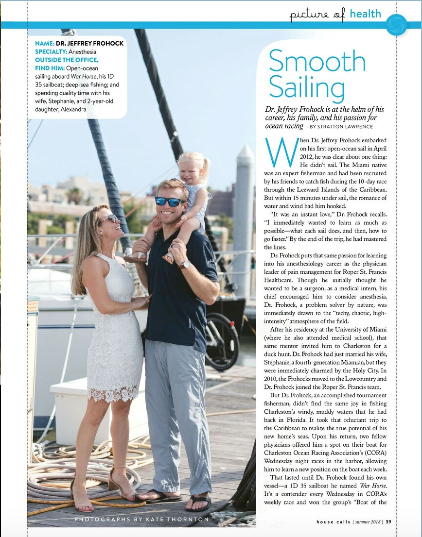 House Calls Story on Sailing