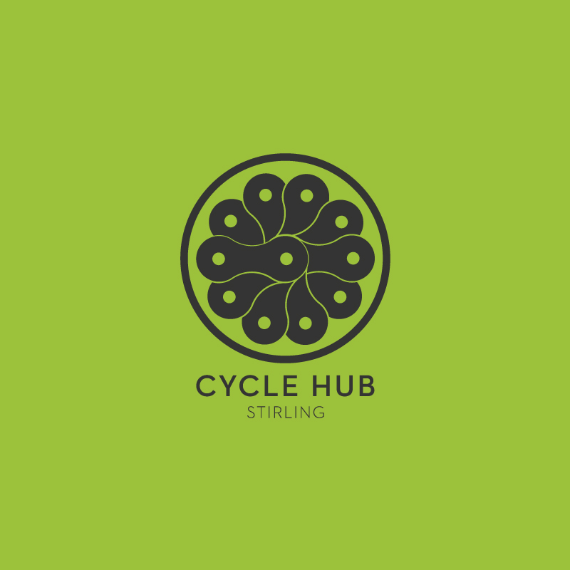 CycleHub Stirling Branding
