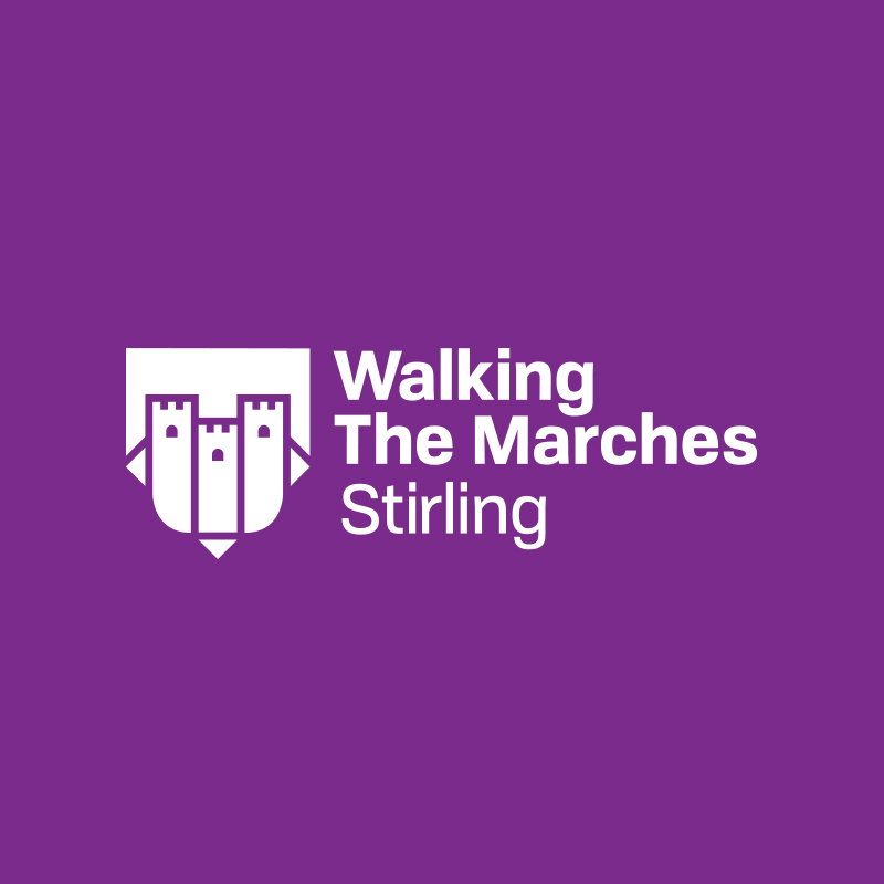 Walk the Marches Stirling Branding