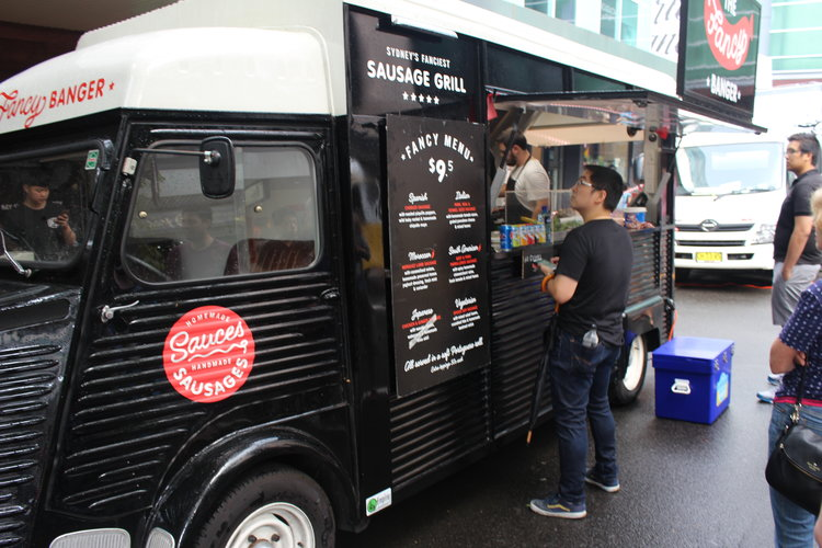 We Were At The Westfield Chatswood Food Truck Festival And Lovely Smell Of Cooking Bangers Drew Us To This Place Straight Away