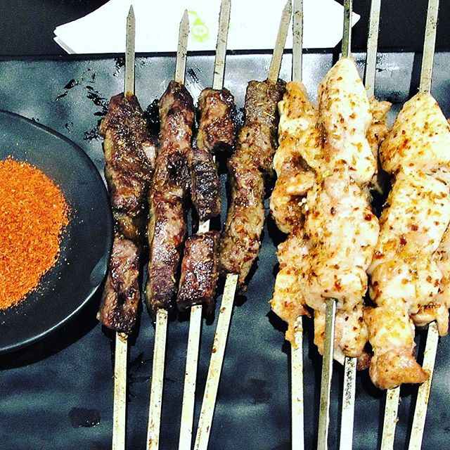 Can't decide between the beef or chicken skewers? Then have both at The Restaurant Chinese Skewers BBQ in Ashfield Sydney #bbq #beef #chicken #chinese #skewers #restaurant #dinner #sirandmladyinvited #delicious #tasty #ashfield #sydneyfood #sydneyfoodblogger #sydney