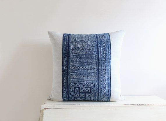Indigo Hmong Tribal fabric from Esty shop  Native Arts Treasures