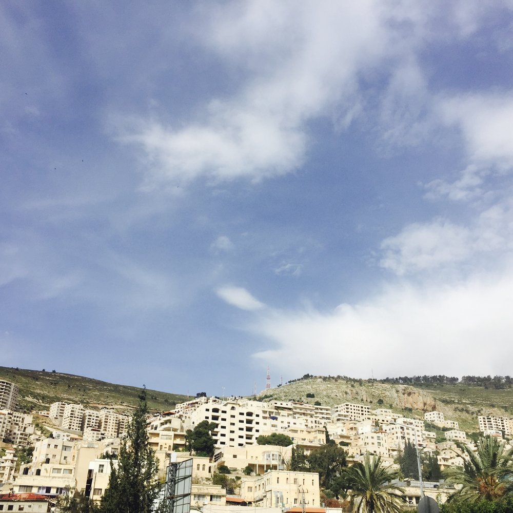 Matthew Williams/The Conflict Archives: The city of Nablus, a Palestinian city in the West Bank.