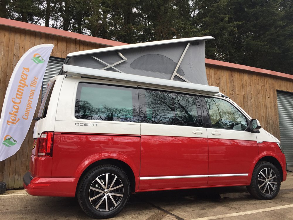 NEW 2018 T6 VW California Oceans 2-Tone NOW AVAILABLE