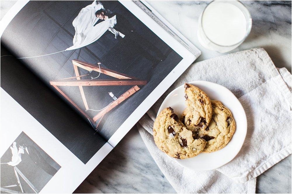 Gluten Free Chocolate Chip Cookies with Sea Salt - Feast & Dwell
