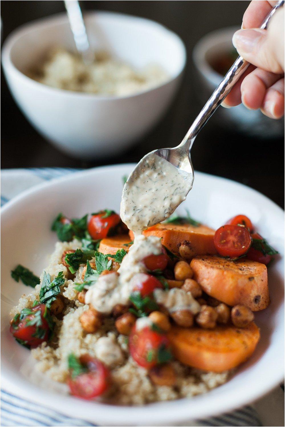 Mediterranean Sweet Potato | Feast & Dwell