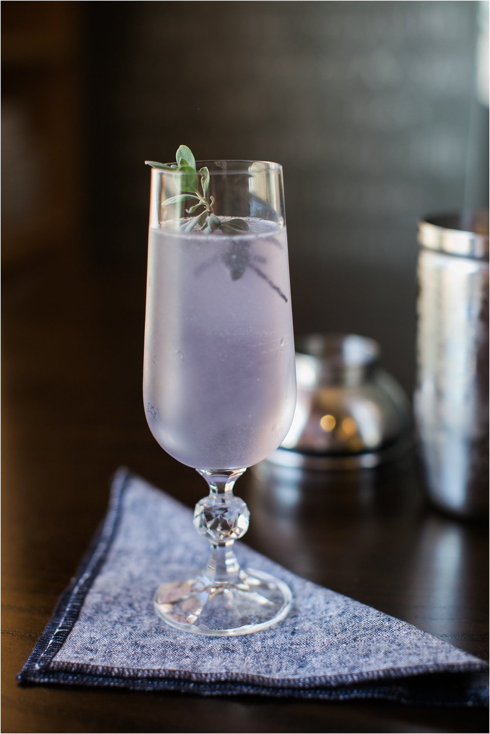 Cocktails with Kels | The Blue Lady | Feast & Dwell
