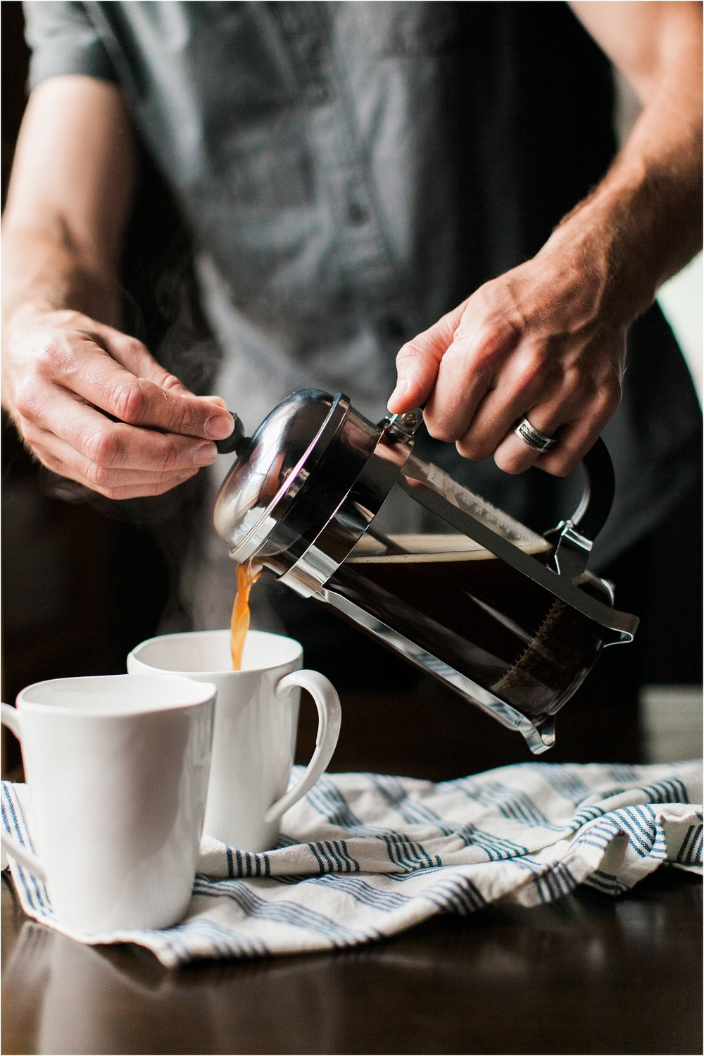 Perfect Cup of French Press Coffee | Feast & Dwell