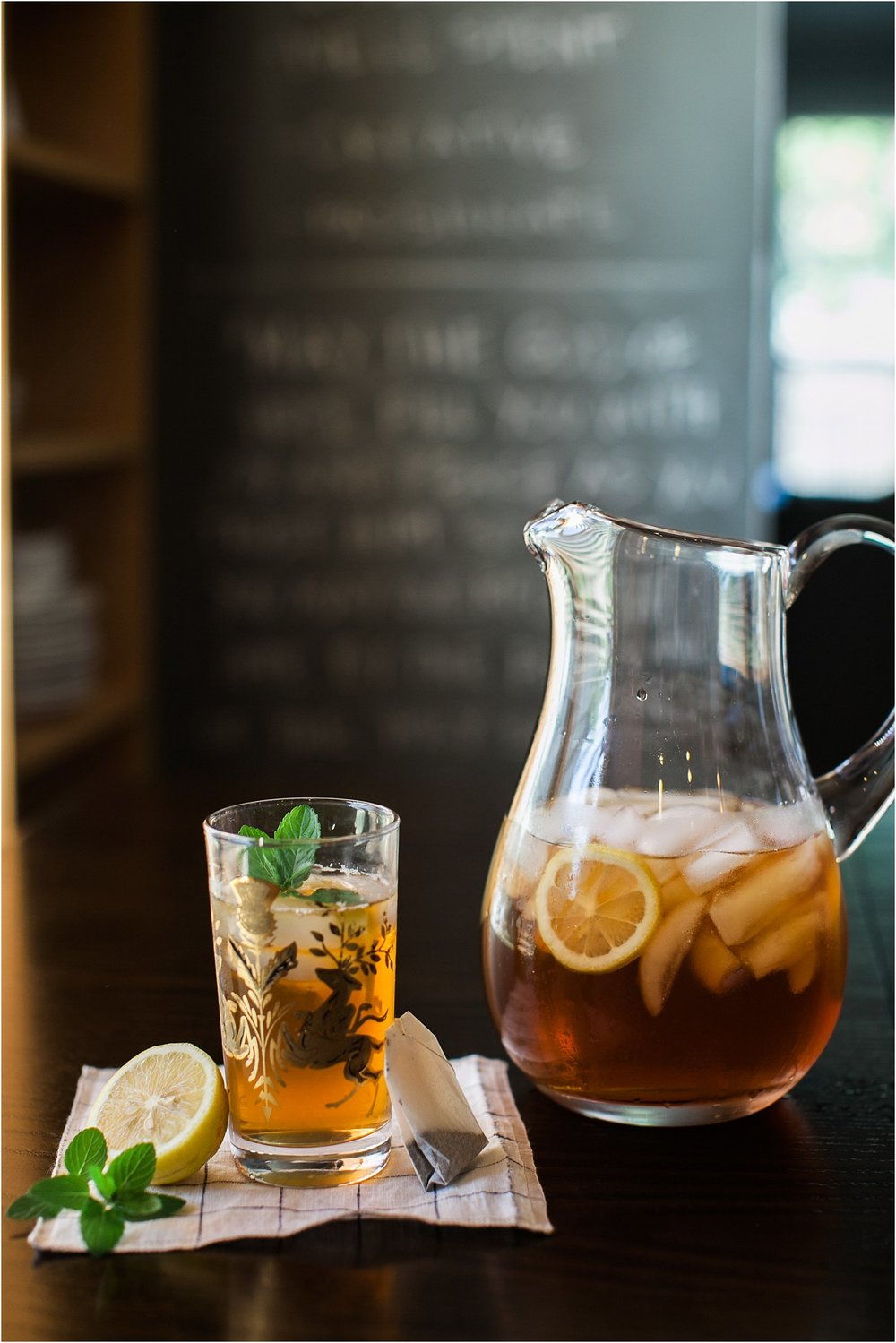 Cocktails with Kels | Rye Iced Tea | Summer Drink | Feast & Dwell