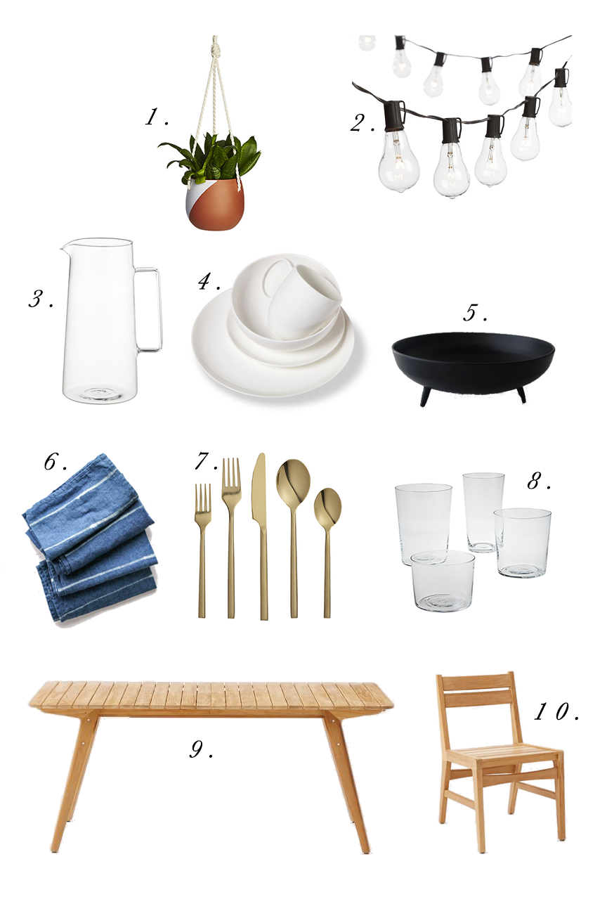 10 Outdoor Entertaining Essentials | Feast & Dwell