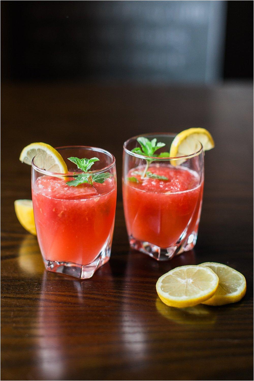Watermelon Lemonade | Feast & Dwell | Summer Drink