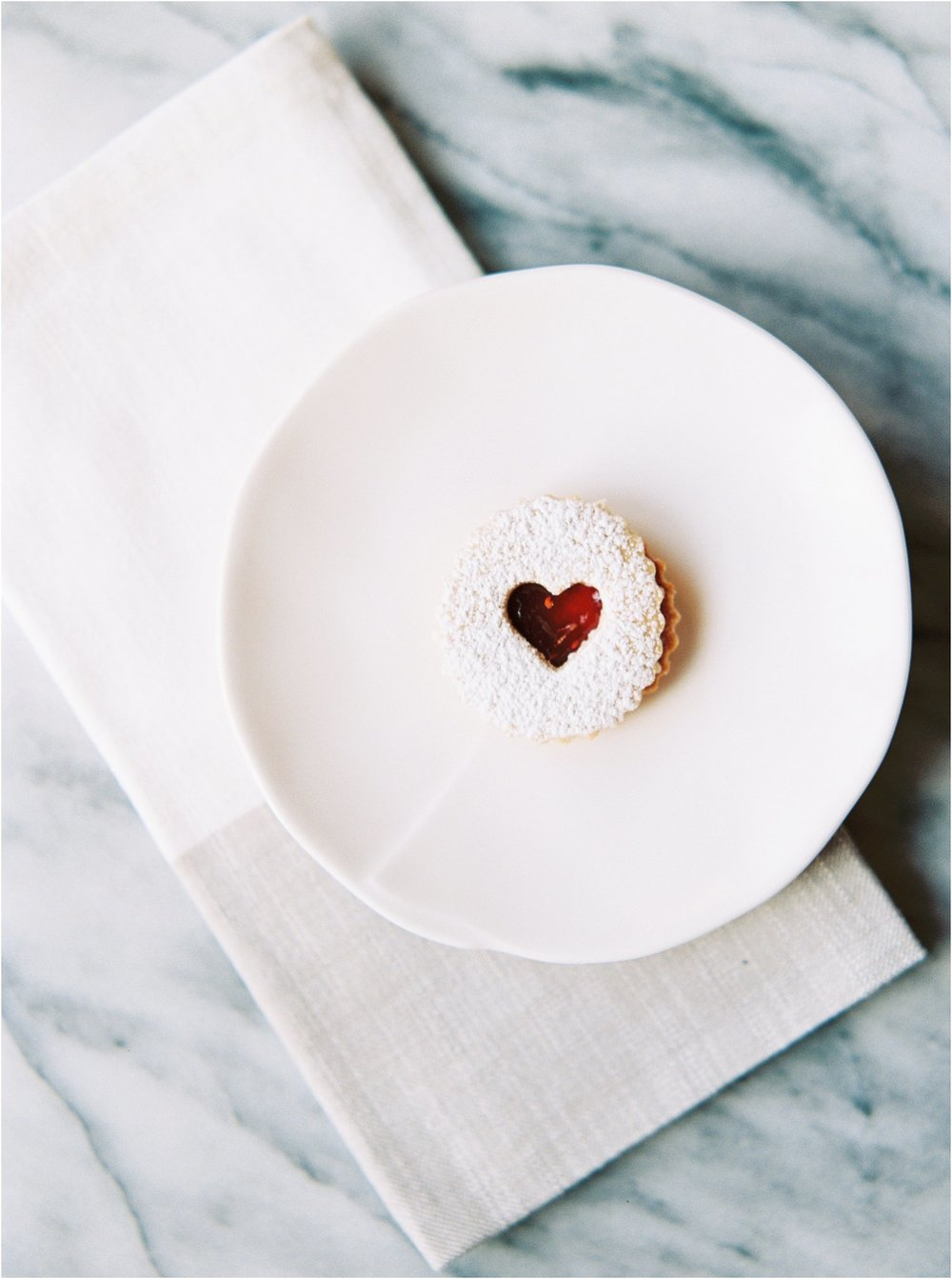 Gluten Free Linzer Cookies with Strawberry Jam | Feast & Dwell