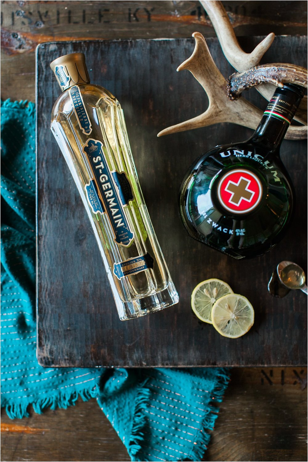 Cocktails with Kels | Summer - Fall Transitional Cocktail with St. Germain and Unicum | Feast & Dwell