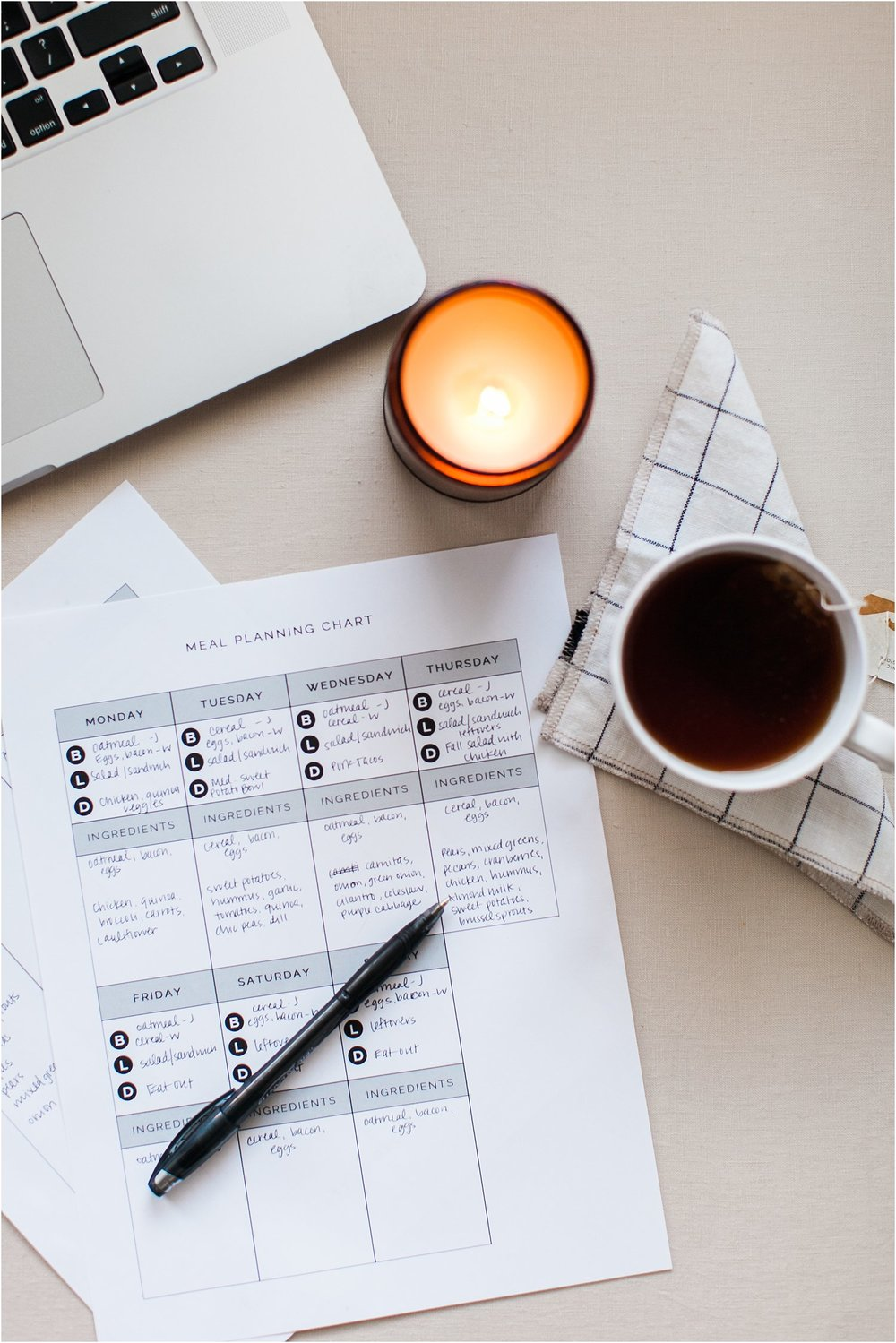 Meal Planning - Why It's Awesome & How to Do It + A Free Printable! | Feast & Dwell
