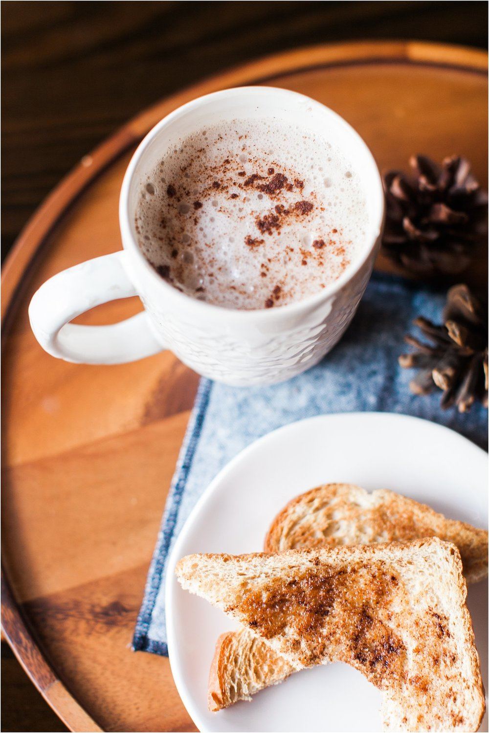 Homemade Chai Tea Latte with Almond Milk | Feast & Dwell