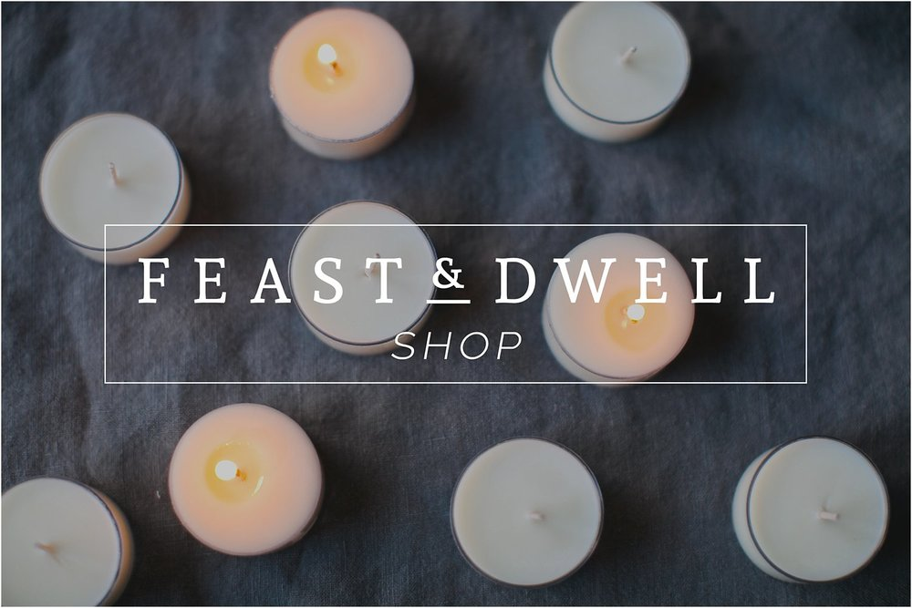 Feast & Dwell Shop | Hand-Poured Soy Candles