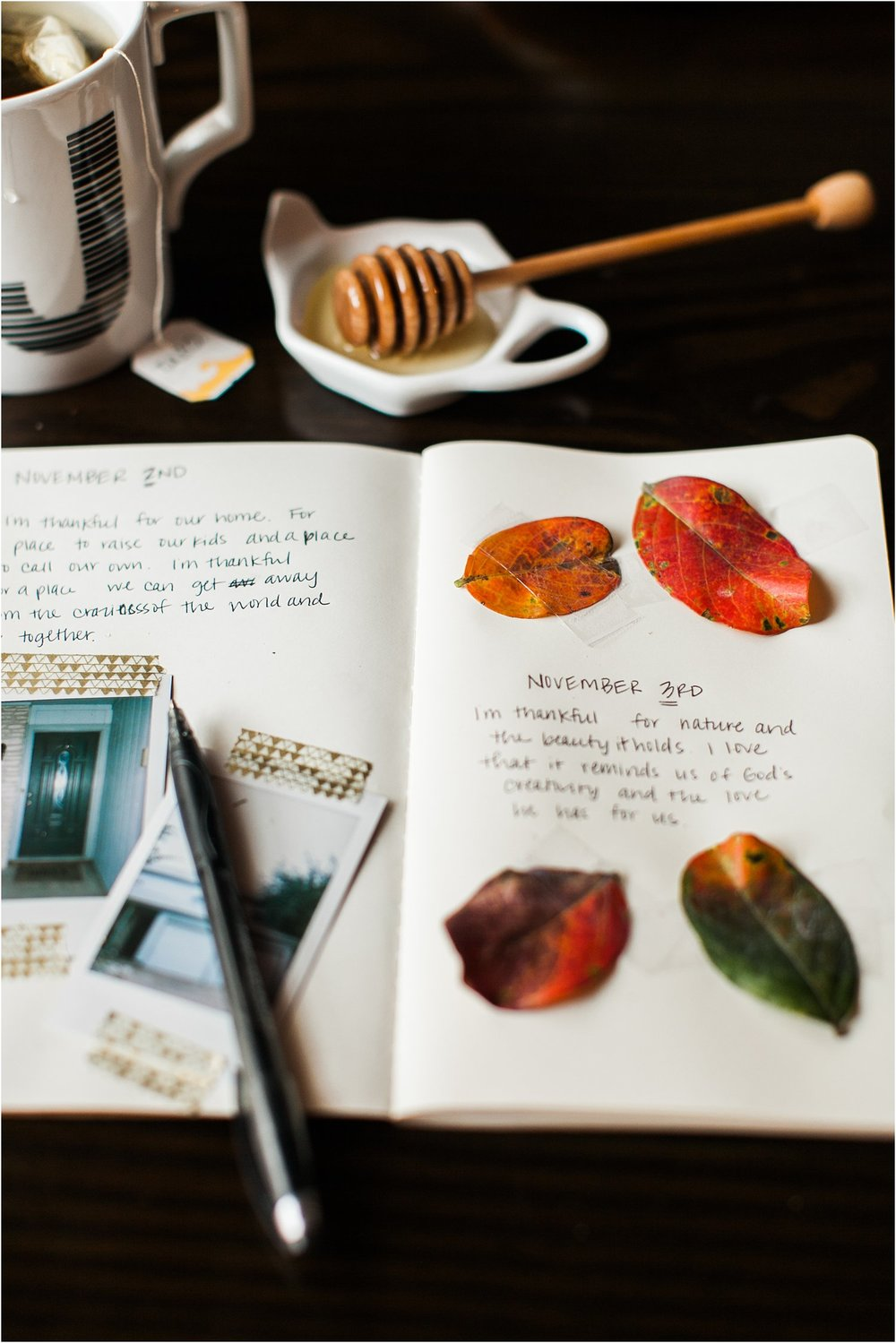 "November ""Thankful Journal"" Challenge 