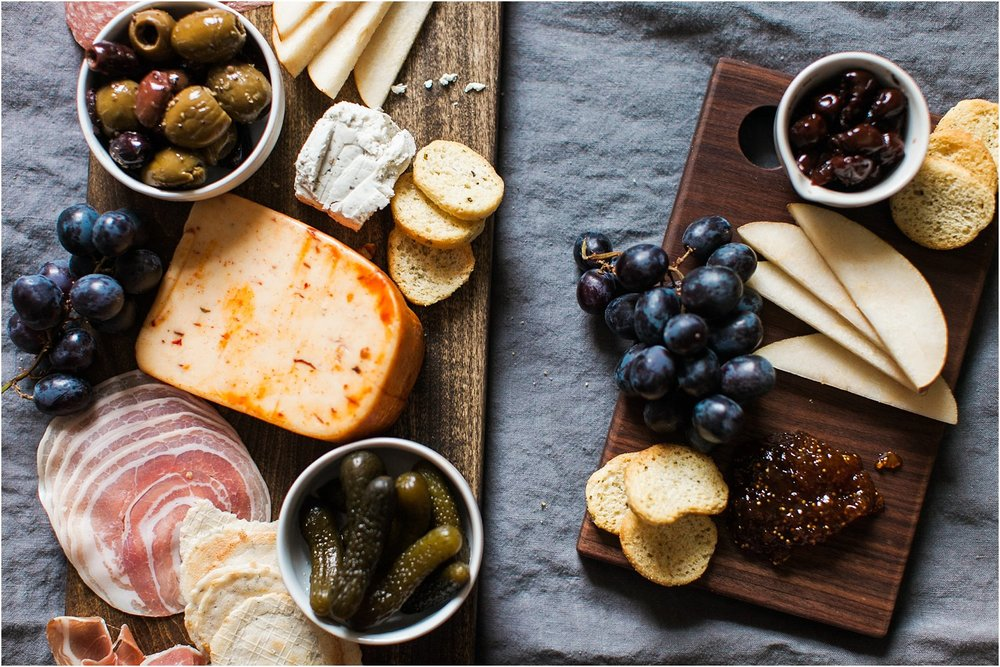 At Home Date Night | Cheeseboard & Wine | Feast & Dwell