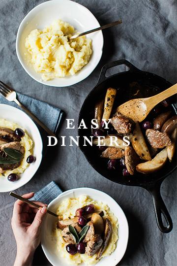 Feast & Dwell | Easy Dinners