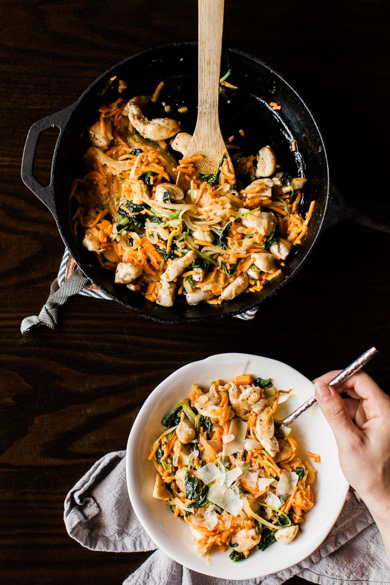 Sweet Potato Noodle Recipe - Easy Dinner Recipe - Feast & Dwell