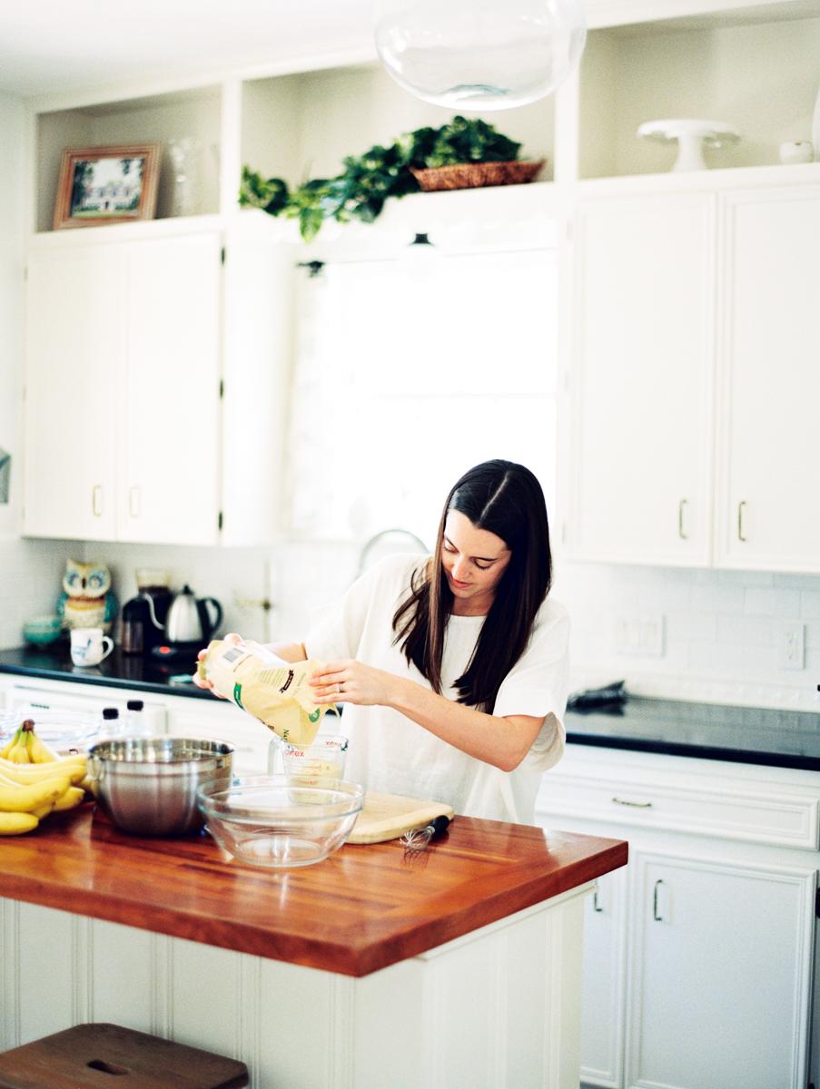 interview with Michelle Boyd & Gluten Free Banana Almond Muffin Recipe
