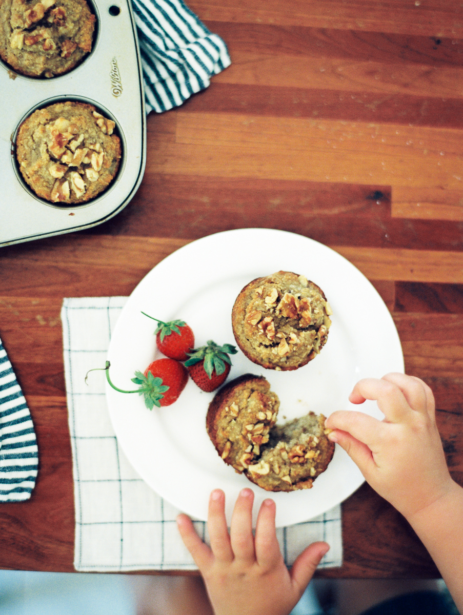 Interview with Michelle Boyd & Gluten Free Banana Almond Muffin Recipe