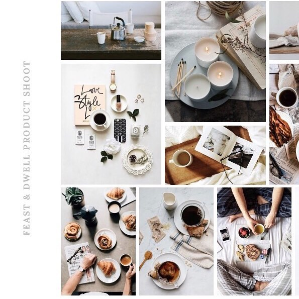 There are some exciting new things in the works! New products means new product shots, and I want the shots to visually portray what my shop it all about (this is the mood board I created for the shoot!). I want my products to be a part of your everyday life. I want them to be used well and often. I also want them to be great quality and items that you are proud to use when you are entertaining. The items in my shop are meant to be shared, used and loved.
