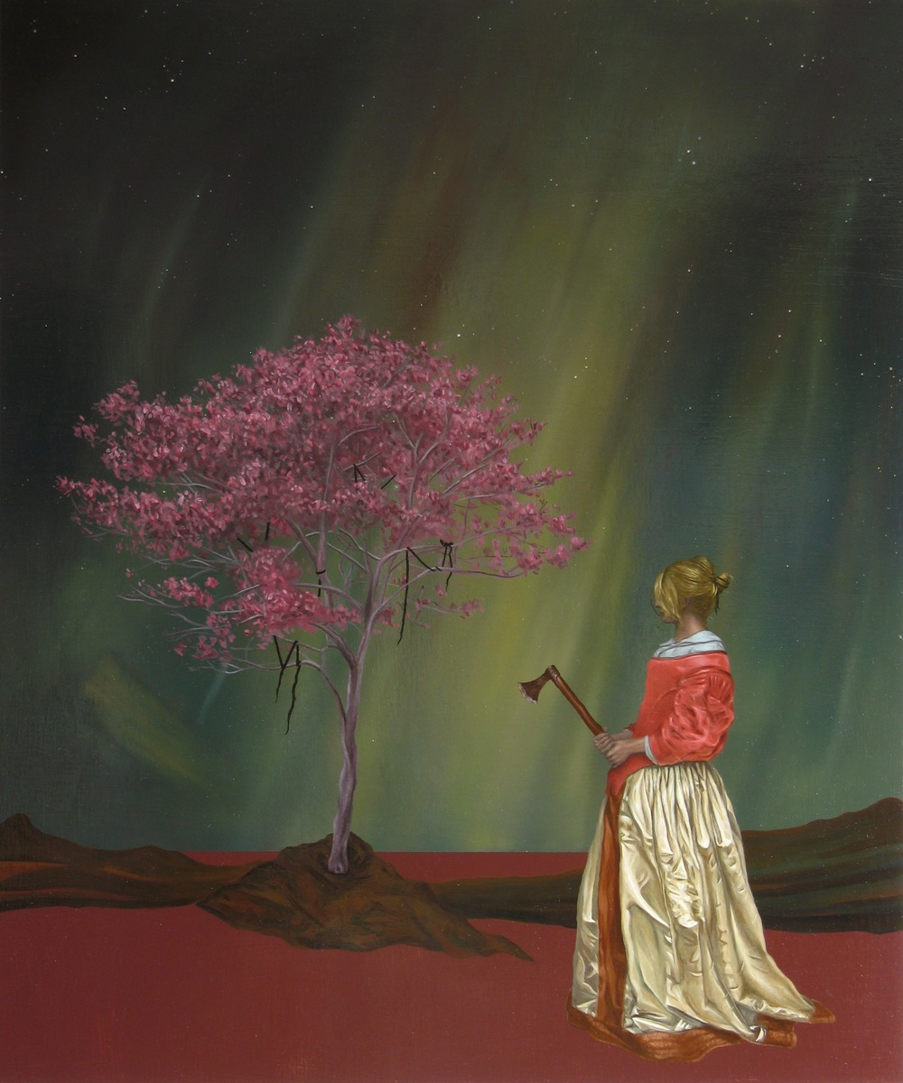 Atonement, Oil on wood panel, 60 x 50cm, 2007