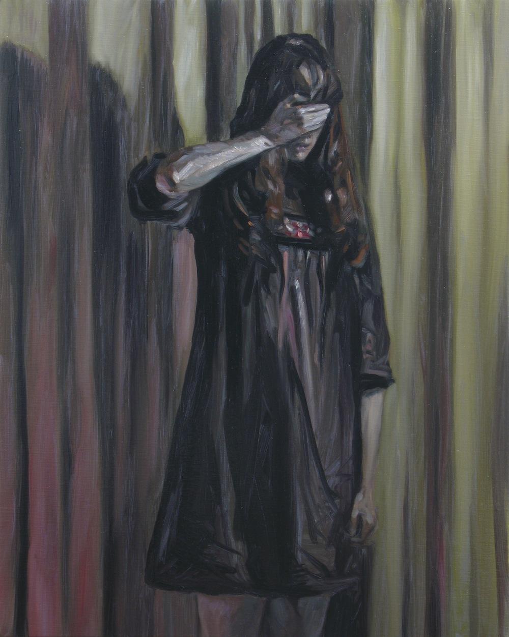 The Unseen, Oil on linen, 50x40cm, 2013