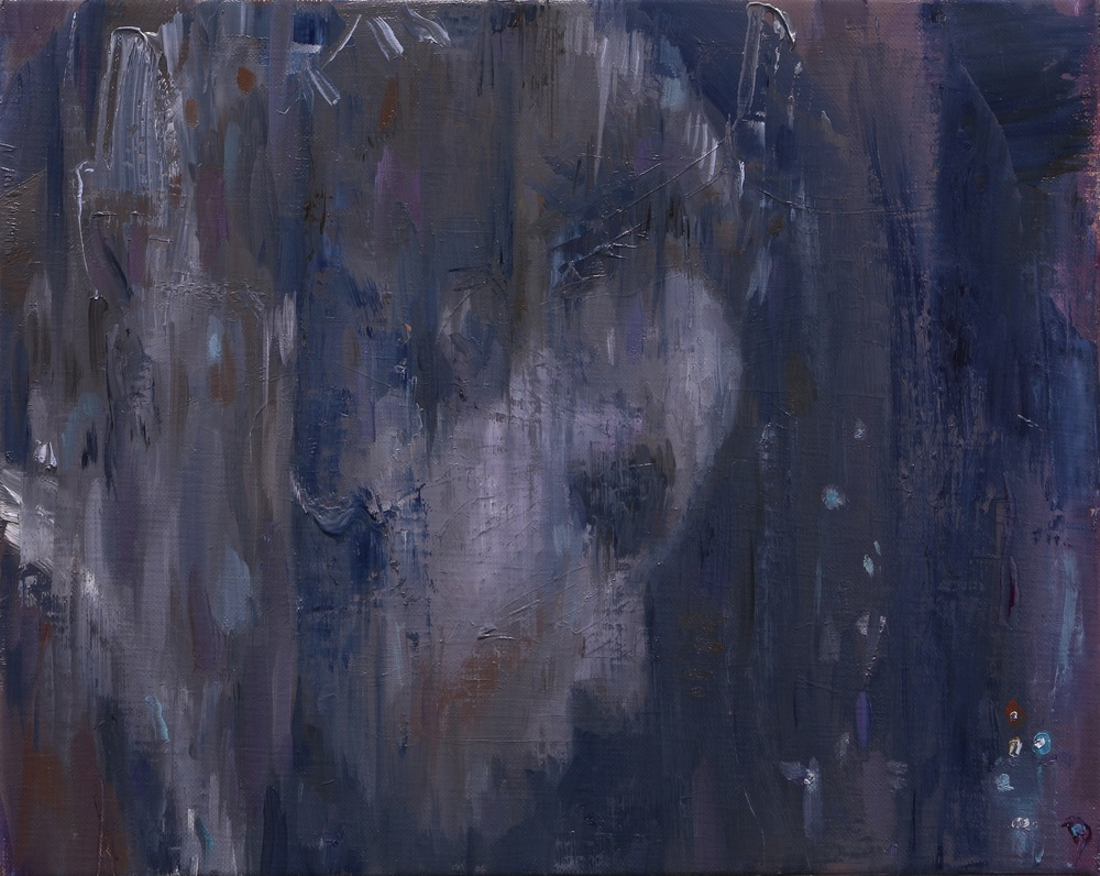 The Echo, Oil on linen, 24 x 30cm, 2014