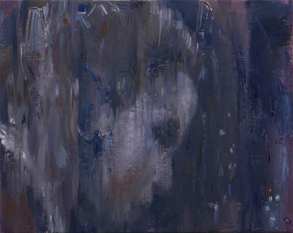 The Echo, Oil on linen, 24 x 30cm, 2014
