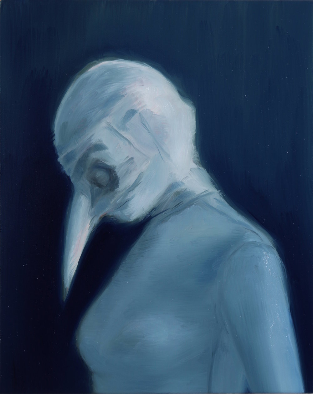 The Beak, Oil on linen, 30x24cm, 2016