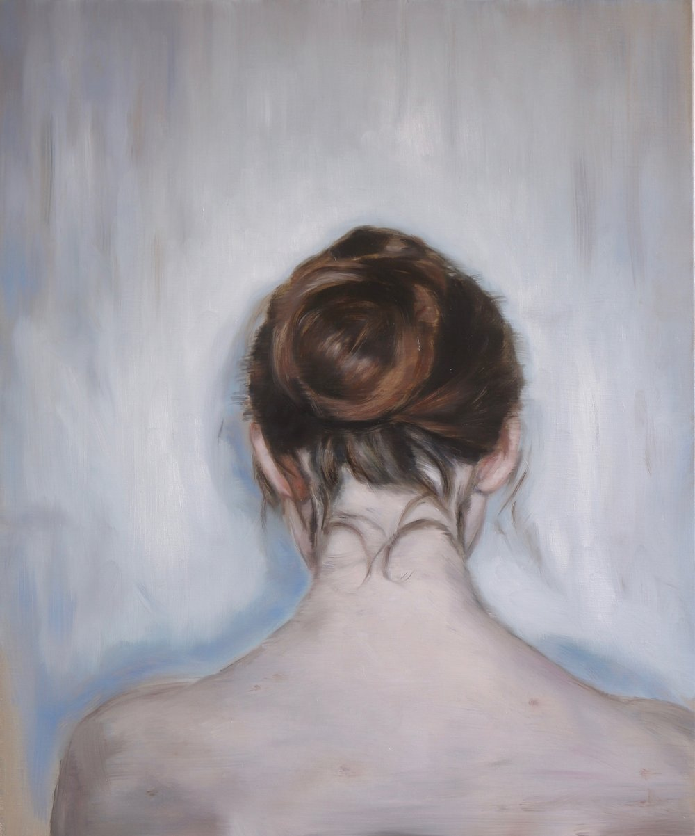 Albertine, Oil on linen, 60x50cm, 2017