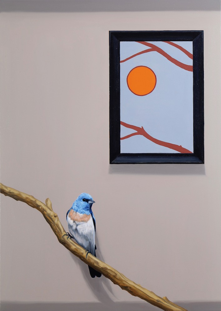 The Gallery Songbird, oil on canvas, 70x50cm, 2018