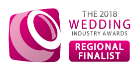 Wedding industry award finalist logo