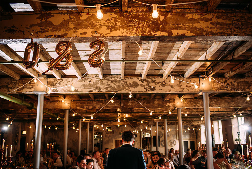 Grooms speech at Holmes mill