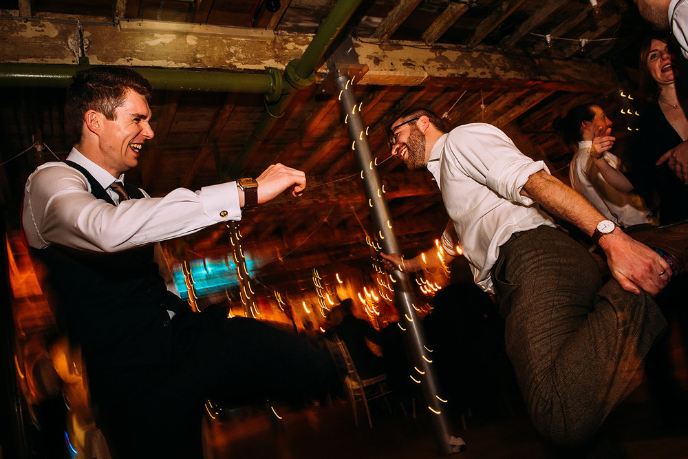 guests during a 'dance off'