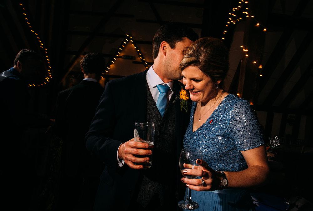 brides sister and her boyfriend