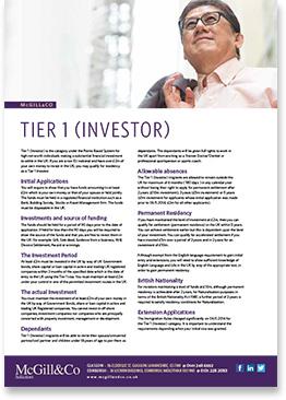 Tier 1 (Investor)
