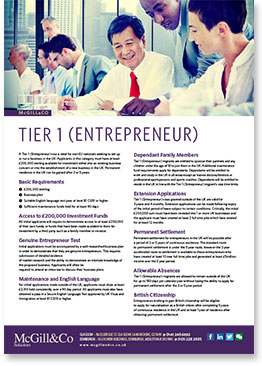 Tier 1 Entreprenuer English