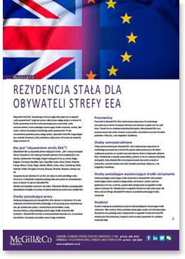 Rezydencja Stała Dla Obywateli Strefy EEA
