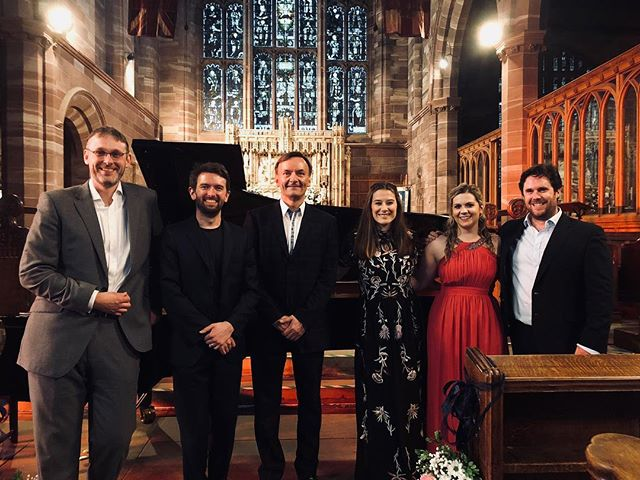 We had a really fun gig with our pal Stephen Hough earlier this week for the SUPERB Hertfordshire Festival of Music