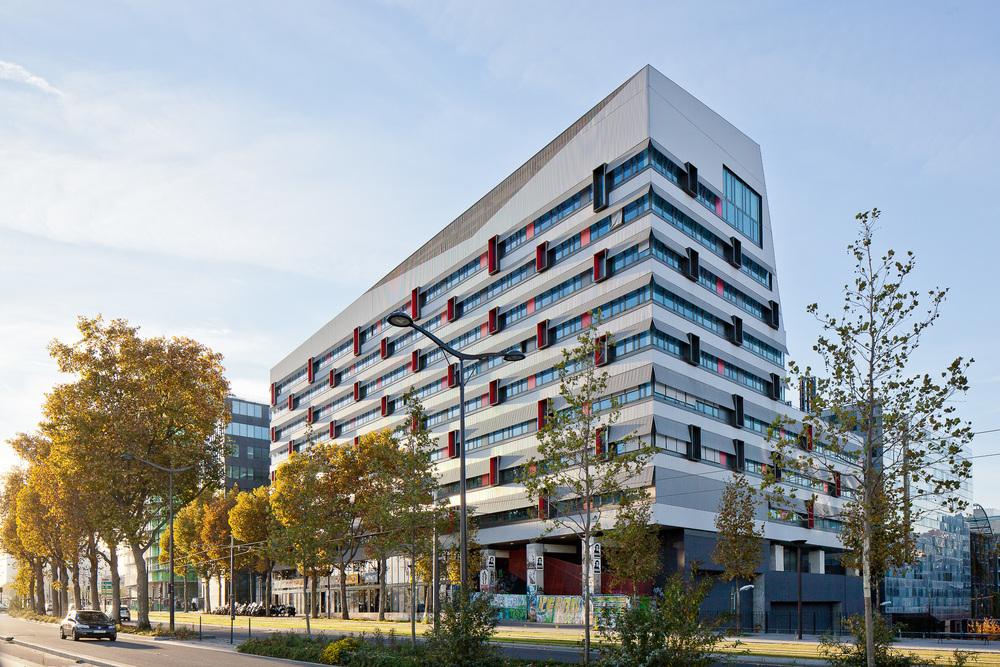 Université Paris VII . Bartélémy Grino Architectes