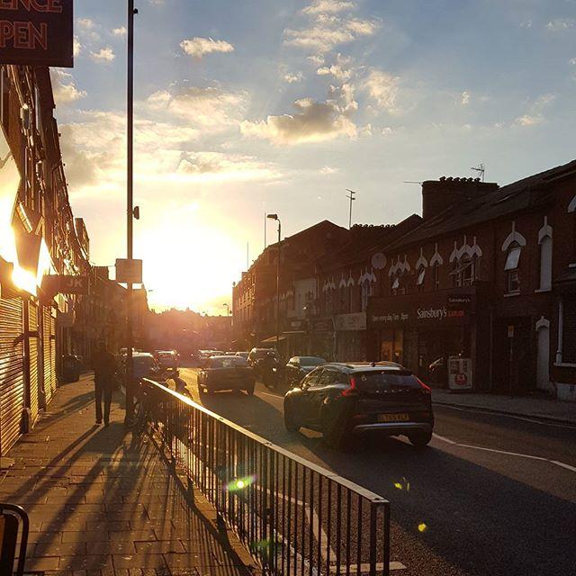 #London few days ago
