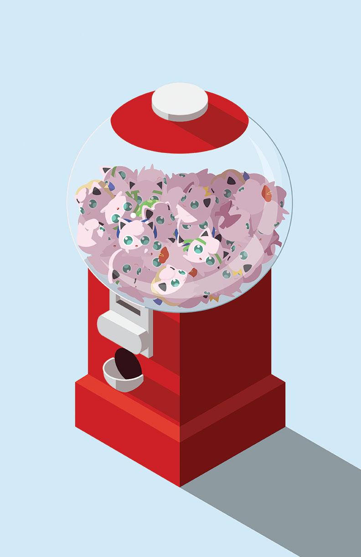 Puffball Machine