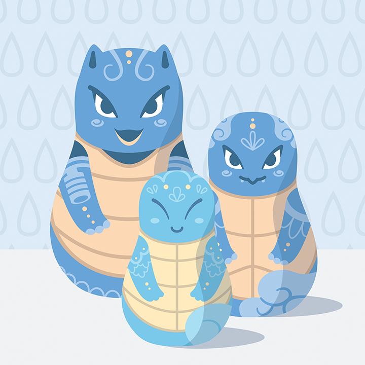Pokemon Matryoshka
