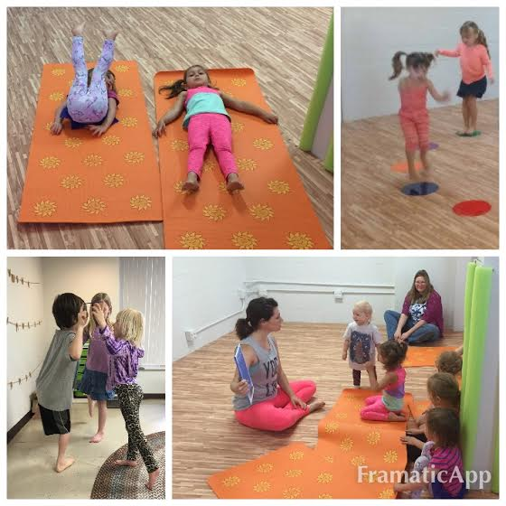 Relaxation, strength building, story time and partner poses using cooperation and team work are just some of the parts in a kids yoga class.
