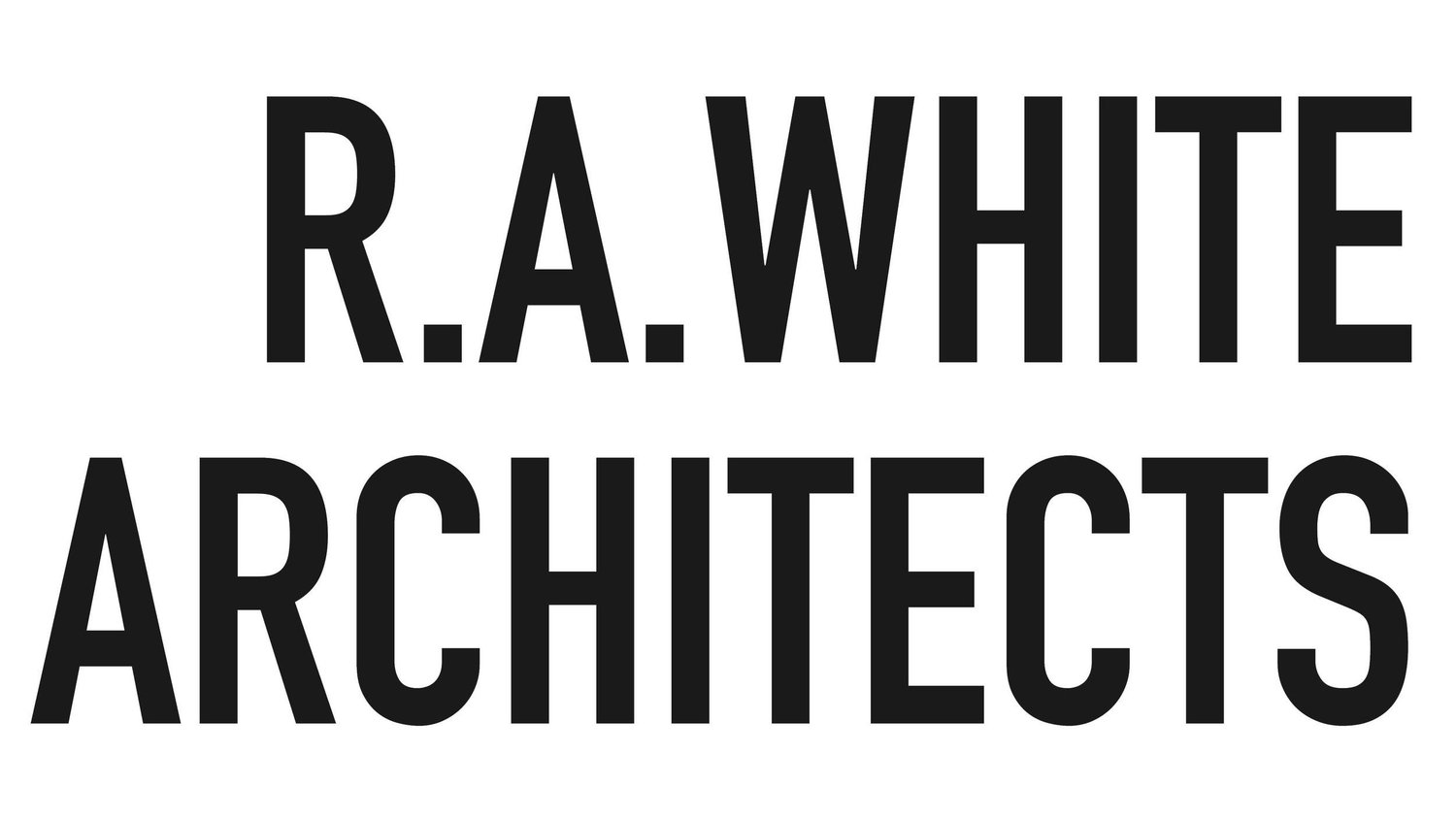R.A.WHITE ARCHITECTS
