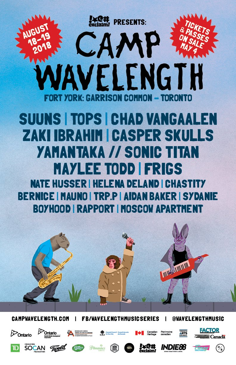 Camp Wavelength 2018